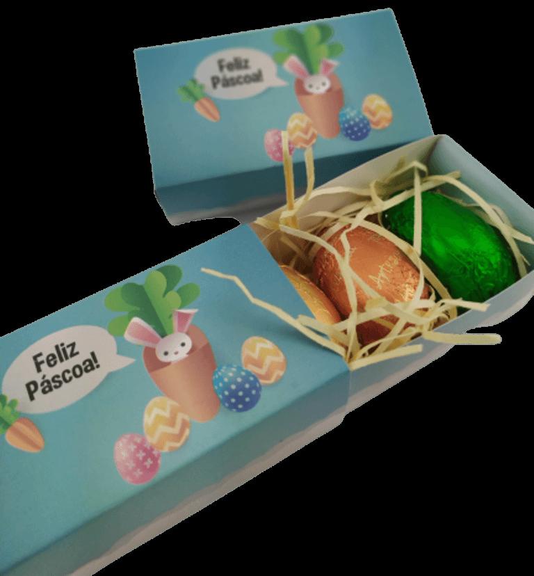 Cesta Pelúcia Especial Família Chocólatra Ovos Feliz Páscoa