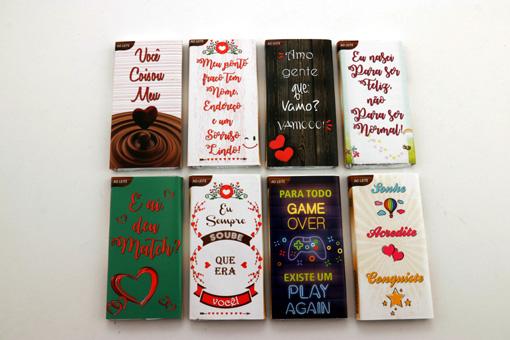 Cesta Presente de Chocolate Coração Dia Dos Namorados Encante Quem Você Ama