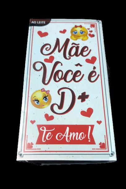 Cesta Presente de Chocolate Coração Dia Das Mães Avós Sogra