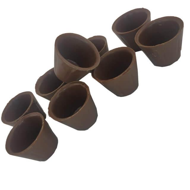 Copinho Baixo de Chocolate ao Leite Gourmet -  Cento
