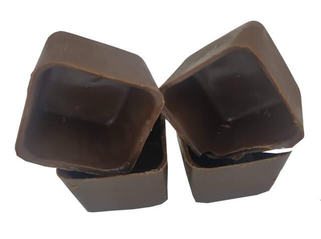 Copinho Chocolate Caixinha Quadrada Gourmet Cento