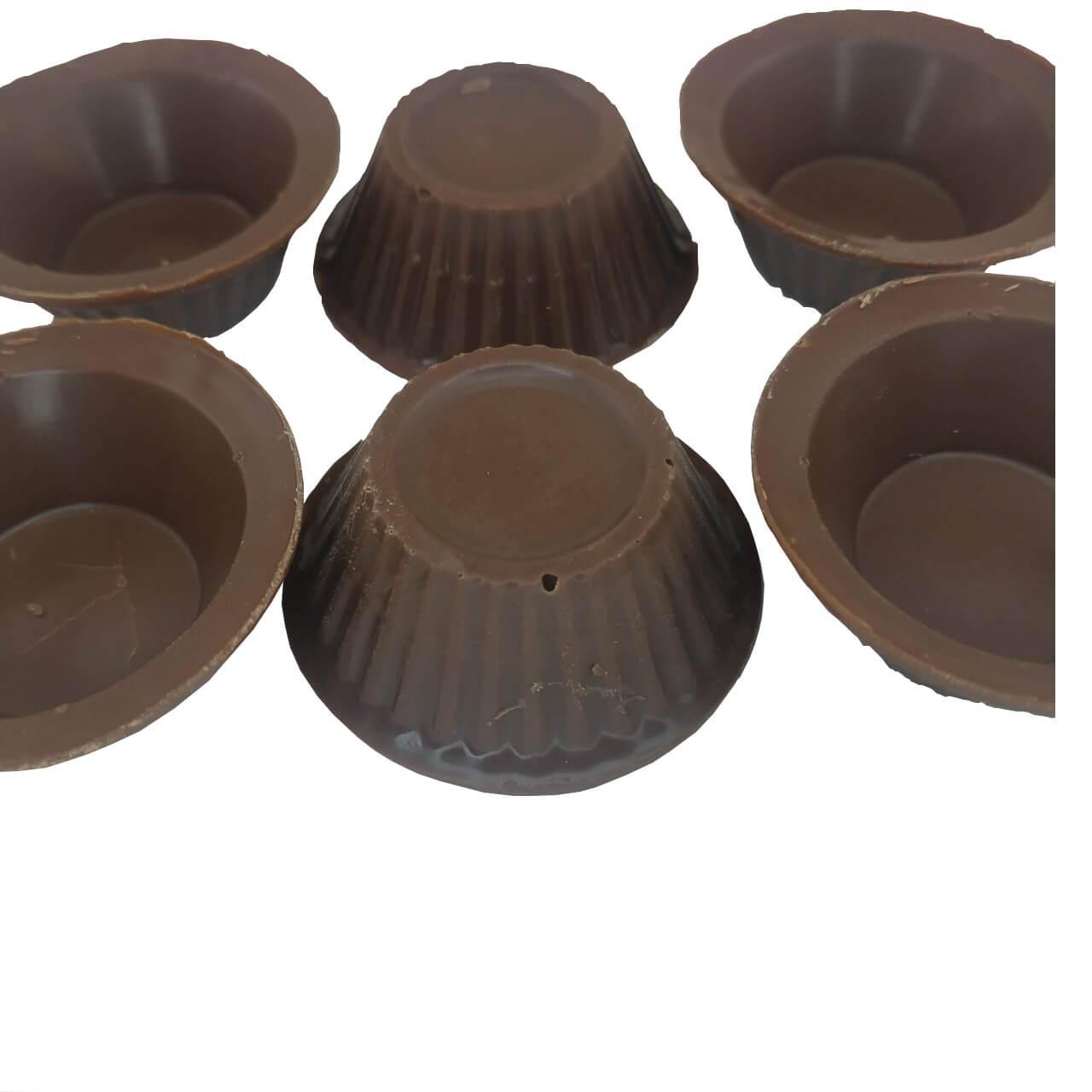 Copinho De Chocolate Ao Leite Forminha Brigadeiro Cento