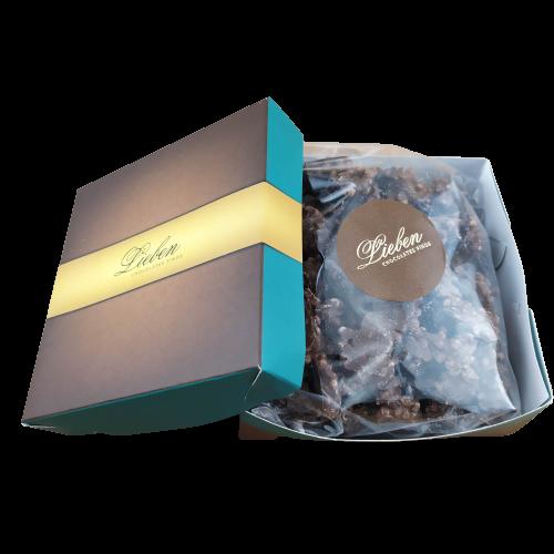 Crocante Chocolate Ao leite Cryspy Campos Consumo Presente