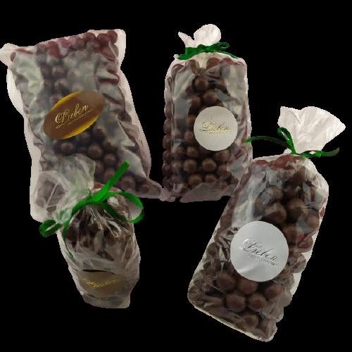 Drageado de Chocolate ao leite com banana 250g