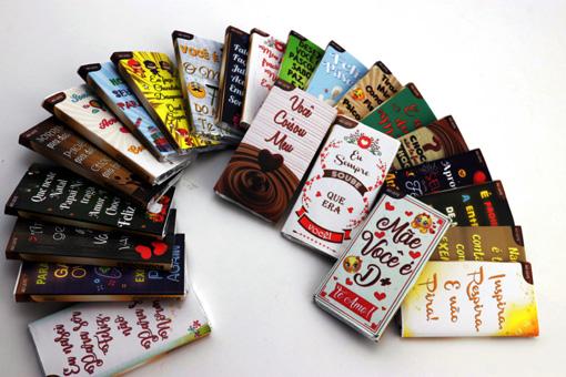 Kit Chocolates Sortidos Presente Amigos Pão De Mel Trufas