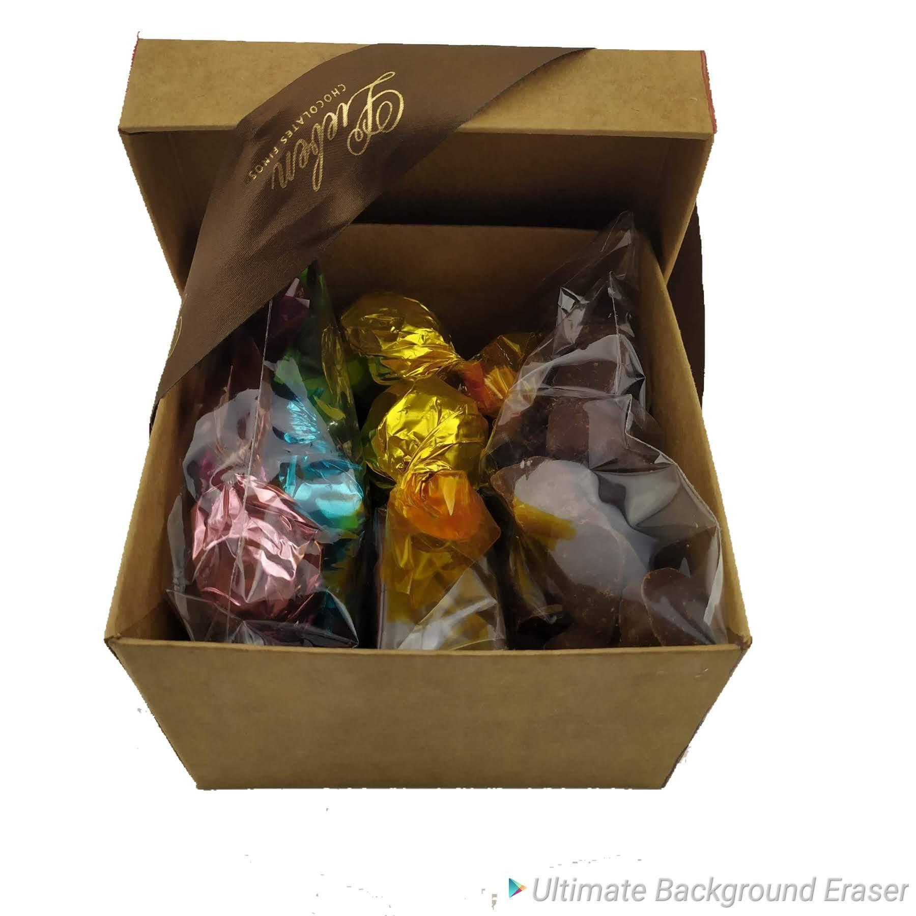 Kit Presente Chocolates Sortidos Pão Mel Presente Namorado Paixão Amor