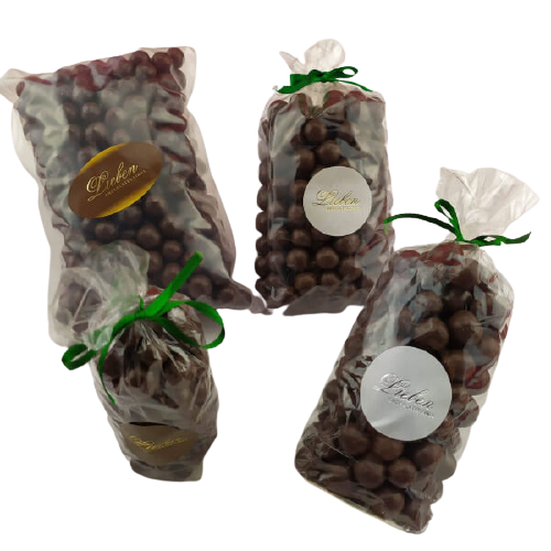 Mix Drageado Chocolate crocante amendoa conhaque 750g