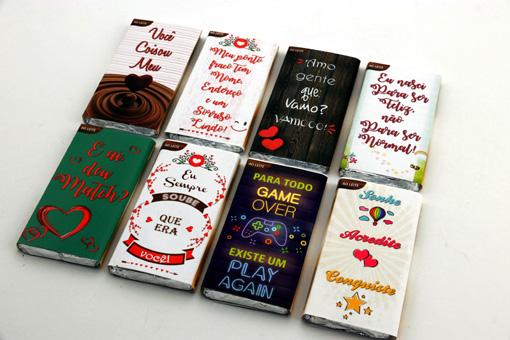Presente de Chocolate Especial Coração Trufado na Casca Pelúcia Encantada