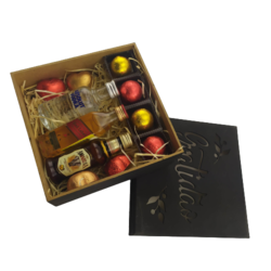 Presente Dia Dos Pais Whisky Vodka Amarula Chocolates Licor