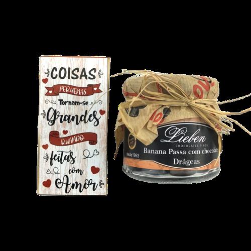 Presente Dia dos Professores Drágeas Recheadas Chocolate Gourmet