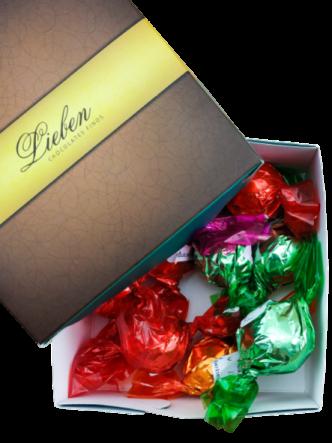Trufas Sortidas Chocolate Artesanal Gourmet Presente Campos 40 unidades