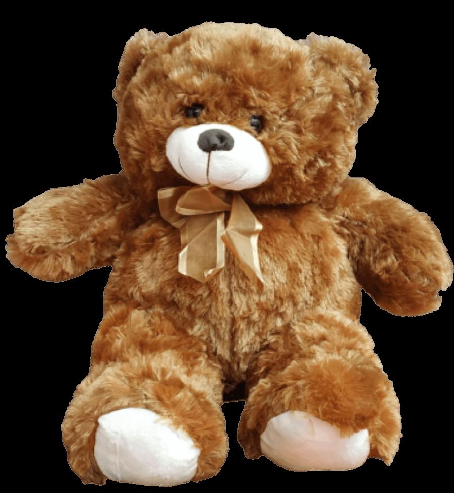 Urso Pelúcia Coração Chocolate Presente Surpresa Aniversário