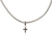 Berloque Cruz em Prata 925