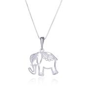 Colar Prata 925 Elefante Vazado