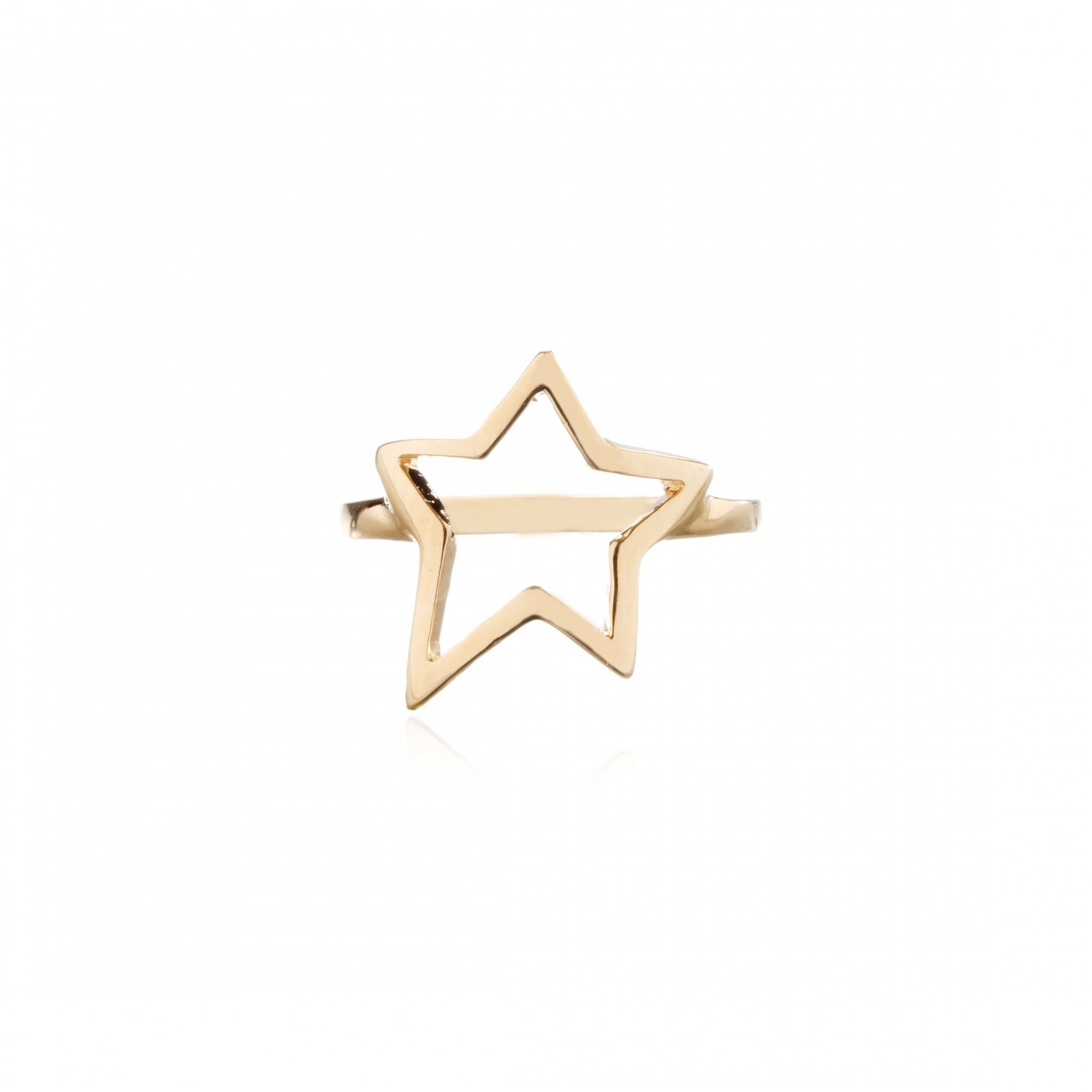 Anel Estrela Liso