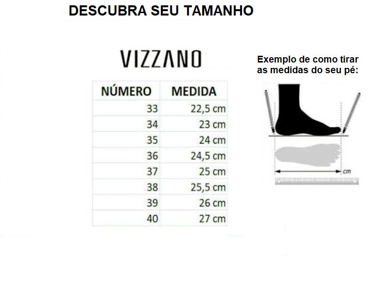 Sandalia Alta Vizzano 6432100