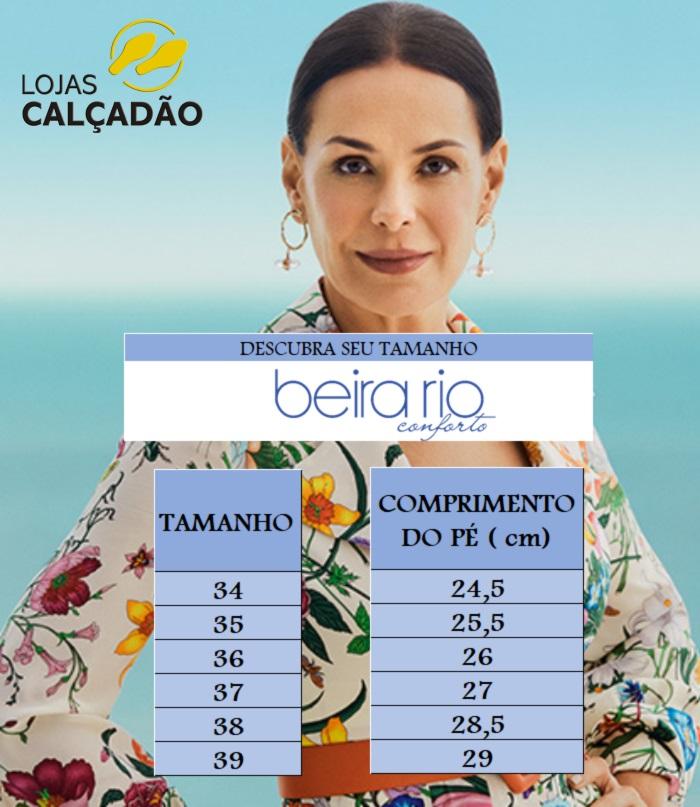 Tamanco Medio Beira Rio 8381312