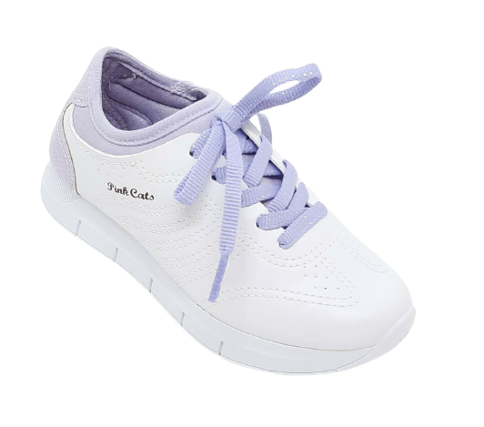 Tenis Casual Pink Cats 1681