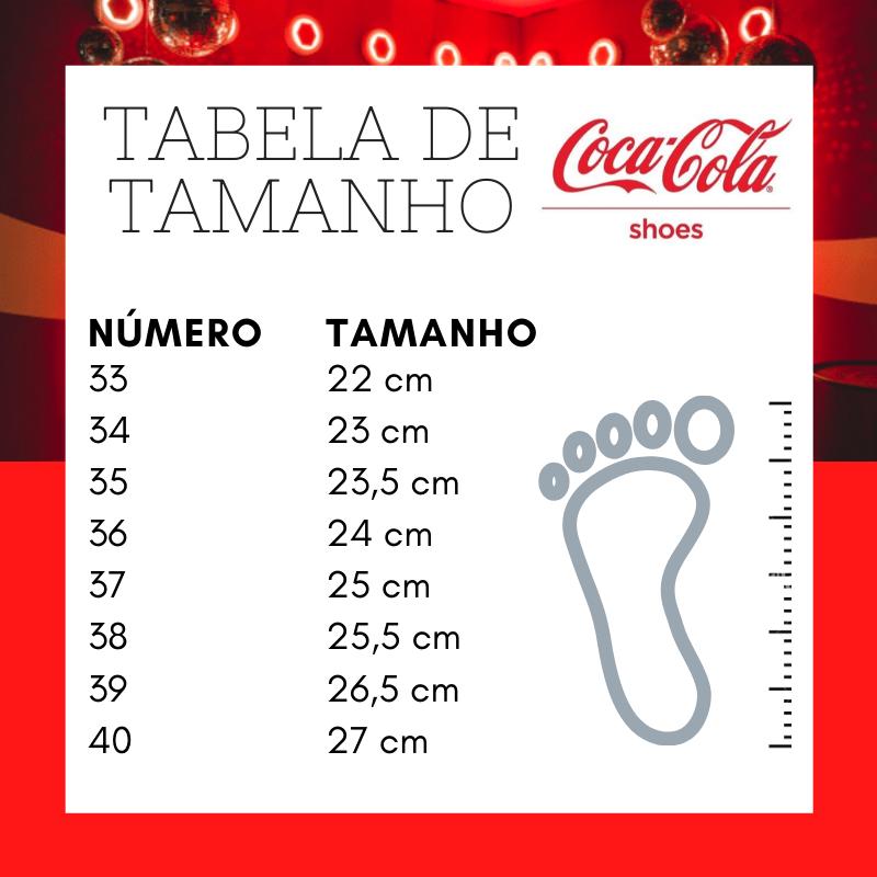 Tenis Esporte Coca Cola Cc1765 Frame