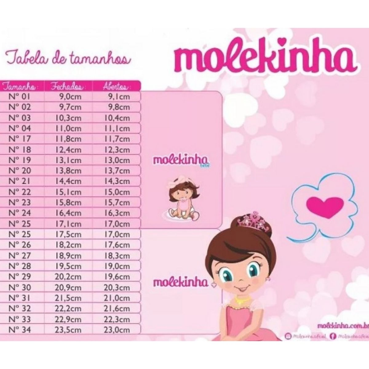 Tenis Molekinha 25201211