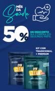 Kit de Wipes  Gym Clean (Compre 1 Refil de Wipe Tradicional e o Refil Premium sai com 50%  de desconto) De: R$ 179,80