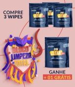 Kit Tradicional Gym Clean ( Compre 3 Wipes e Ganhe + 1) De: R$ 359,60