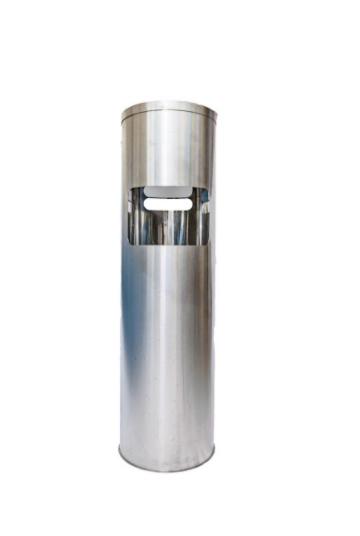 Dispenser de Inox com Lixeira Gym Clean