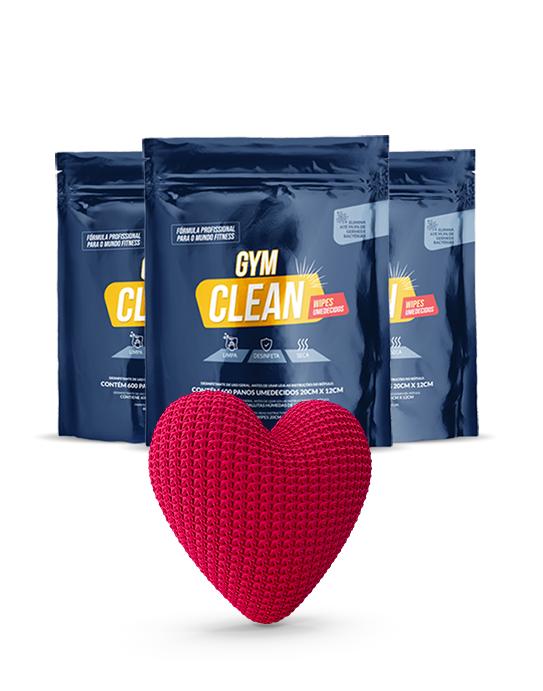 Kit Tradicional Gym Clean (Compre 3 e pague 2)  De: R$ 269,70