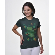 Camiseta Baby Look - Bendita Esperança