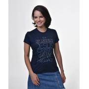 Camiseta Baby Look - ICHTHUS com marca d'água