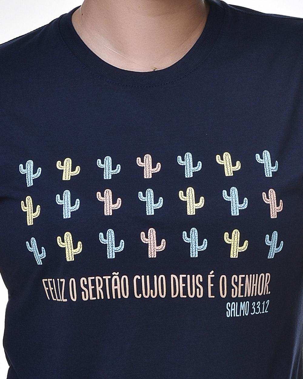 Camiseta Baby Look - Bendito Sertão 01