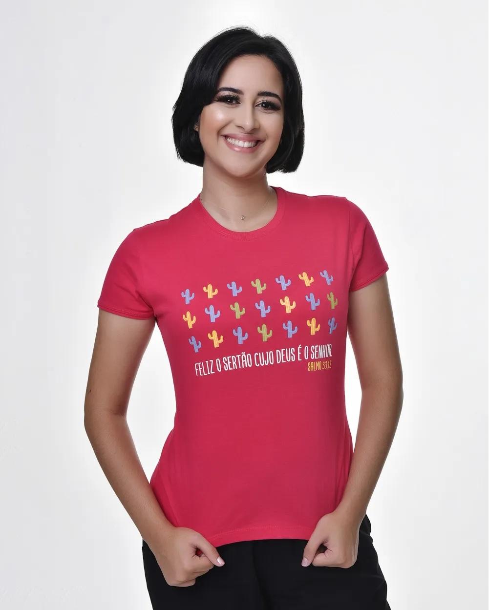 Camiseta Baby Look - Bendito Sertão 01 (Algodão)