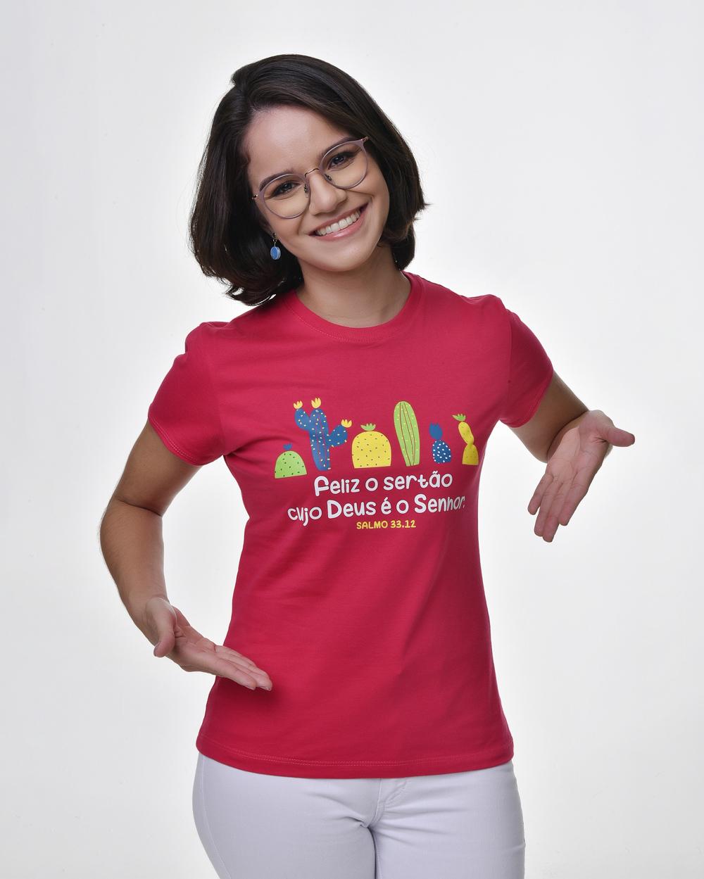 Camiseta Baby Look - Bendito Sertão 02 (Algodão)