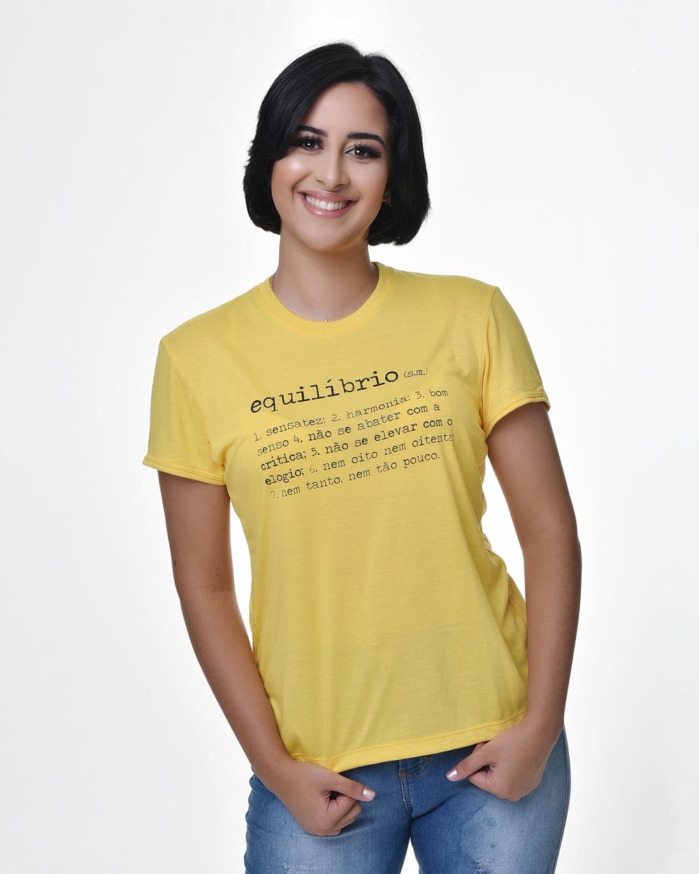 Camiseta Baby Look - Equilíbrio