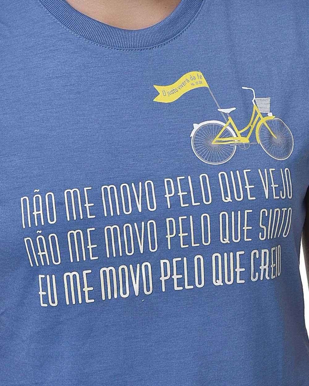 Camiseta Baby Look - Fé - Hebreus 11