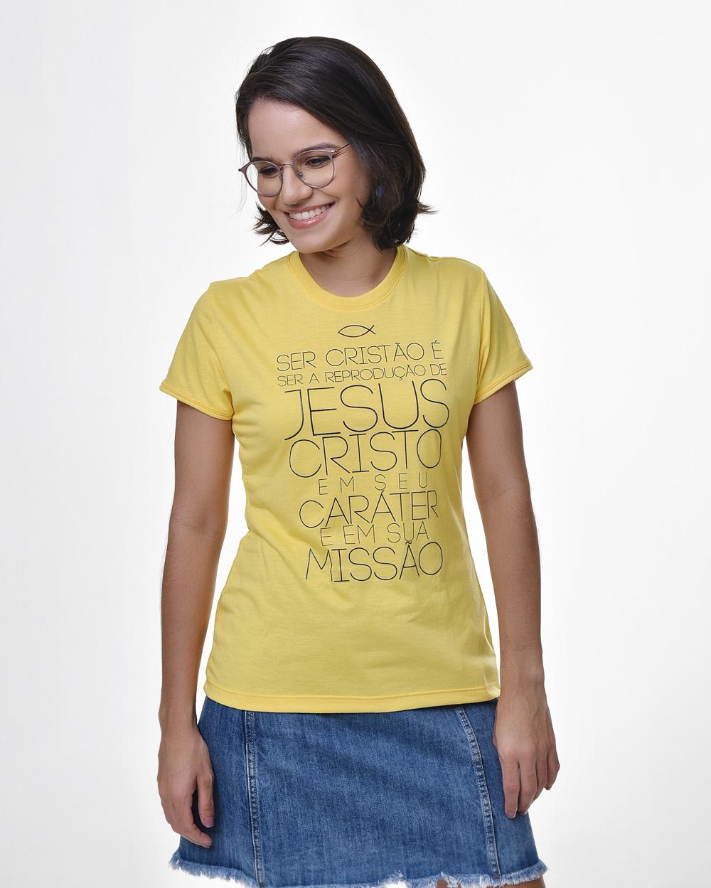 Camiseta Baby Look - Ichthus