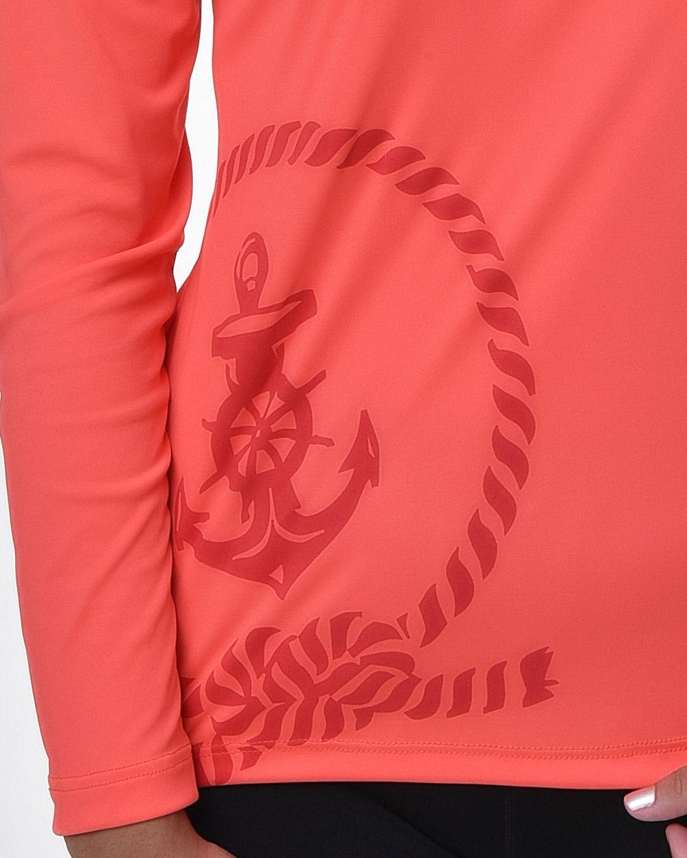 Camiseta Baby Look Proteção Solar - Navy - FPS50+