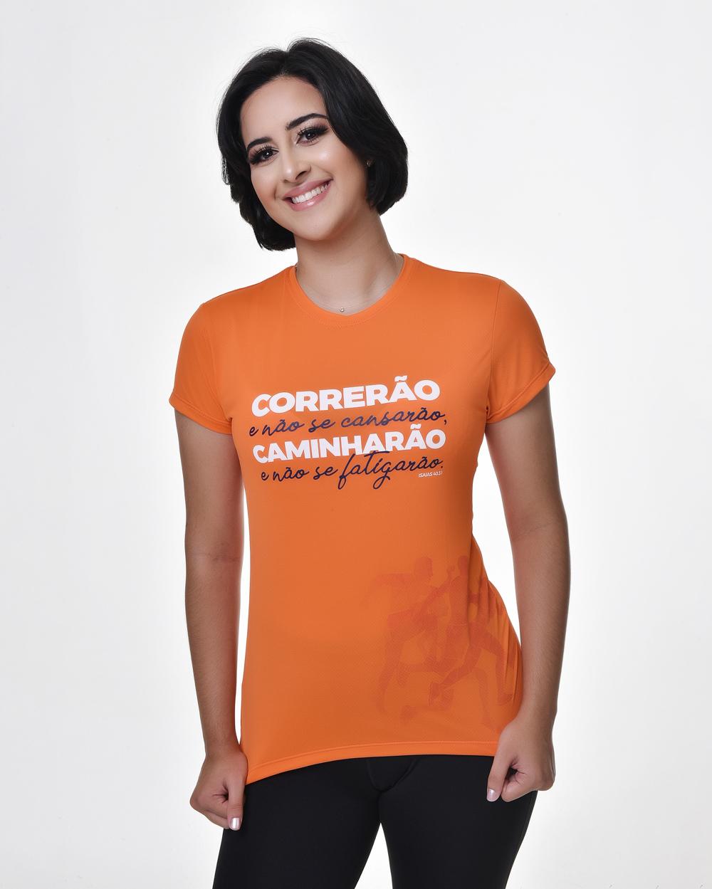 Camiseta Fitness Baby Look - Bendito Treino 01