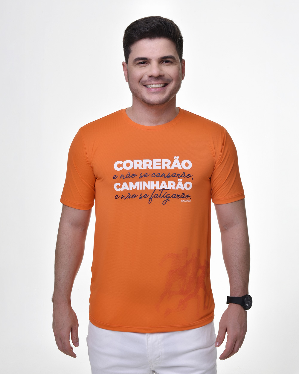 Camiseta Fitness Tradicional - Bendito Treino 01