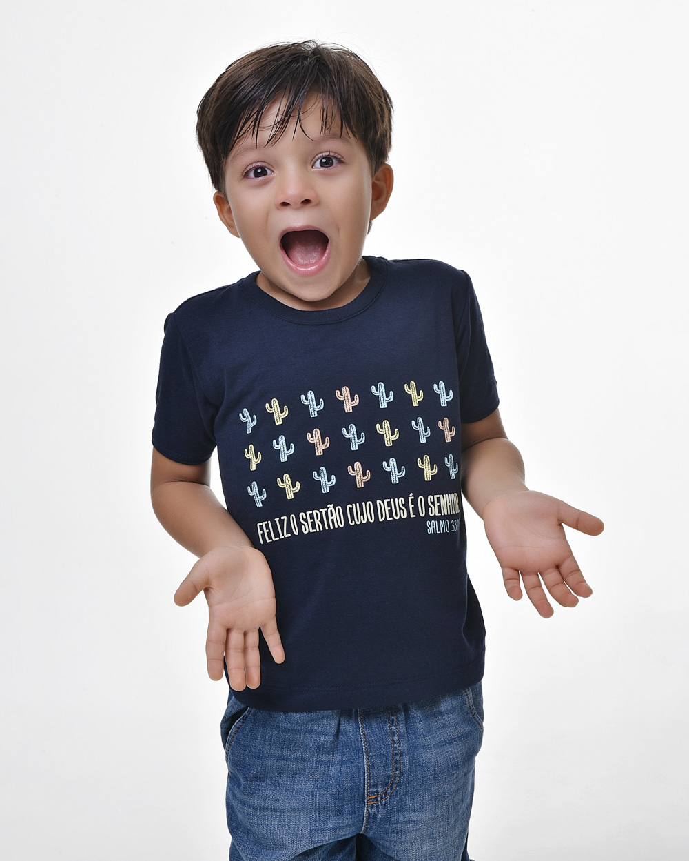 Camiseta Infantil - Bendito Sertão 01