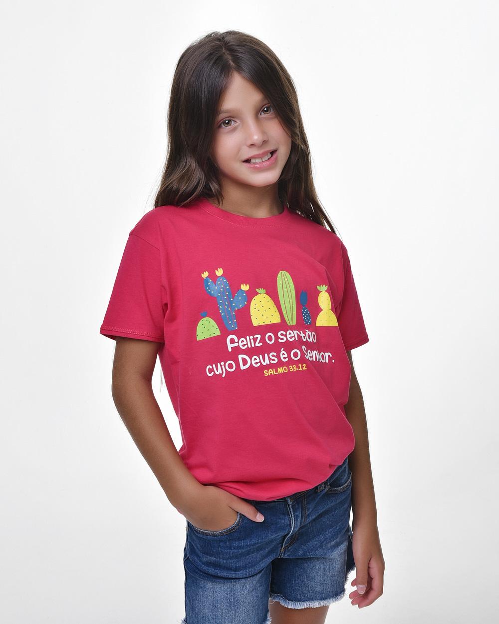 Camiseta Infantil - Bendito Sertão 02 (Algodão)