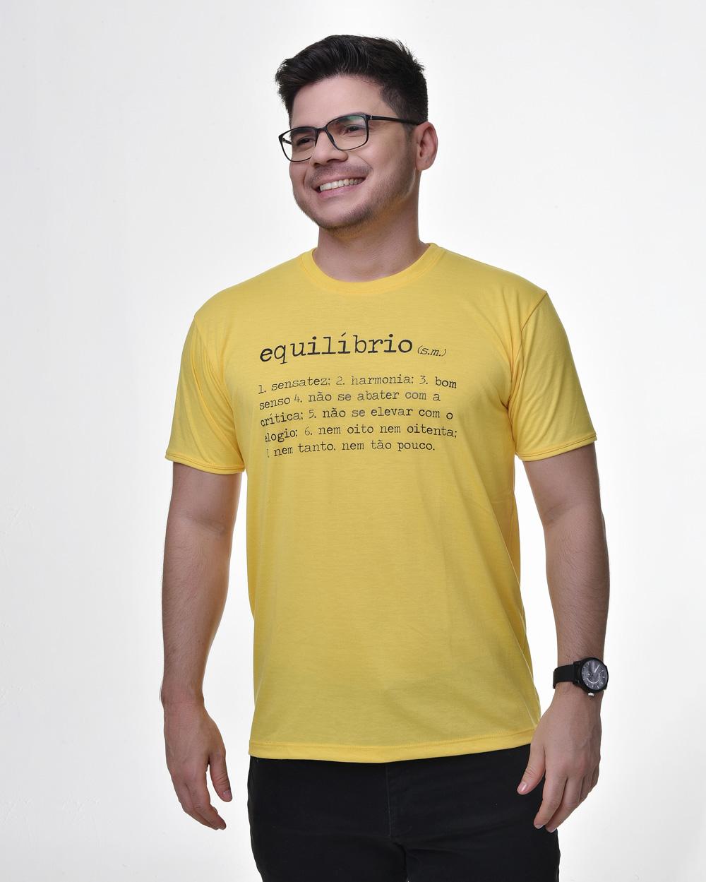 Camiseta Tradicional - Equilíbrio