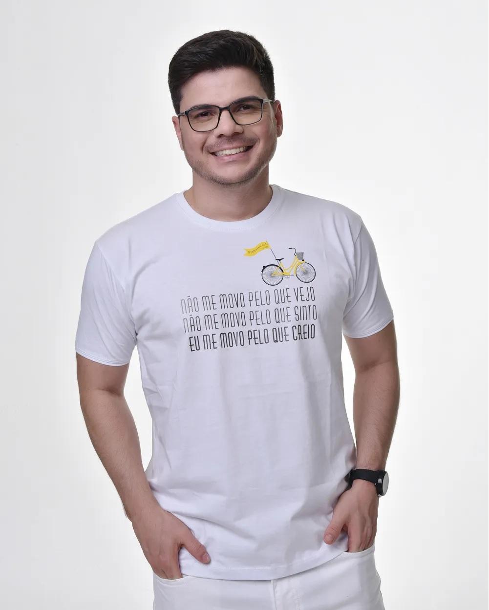 Camiseta Tradicional - FÉ - Hebreus 11 (Algodão)
