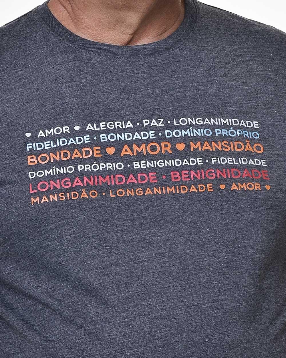 Camiseta Tradicional - Fruto do Espírito