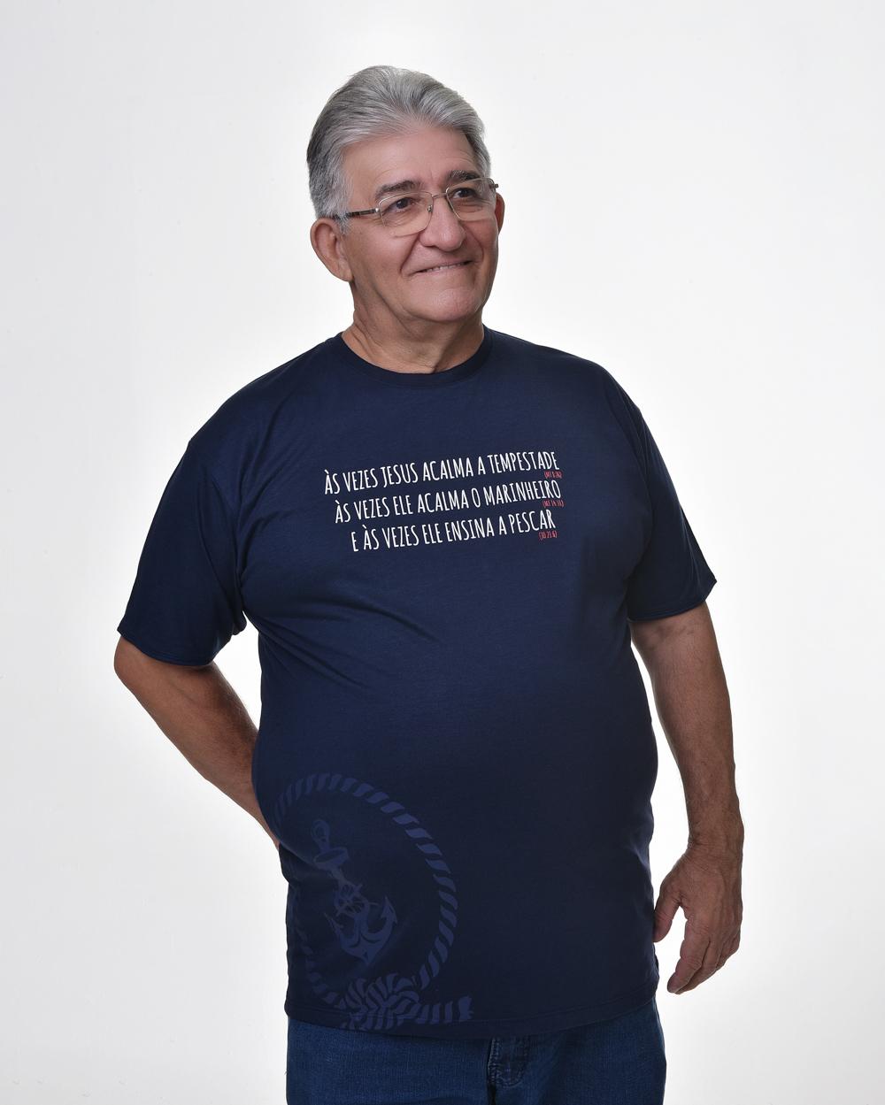Camiseta Tradicional - Navy