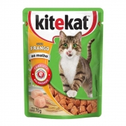 Alimento Úmido KiteKat Frango ao Molho 70g