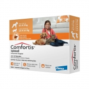 Antipulgas Elanco Comfortis 270 mg - Cães de 4,5 a 9Kg e Gatos de 2,8 a 5,4Kg