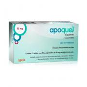 Apoquel Dermatológico Zoetis para Cachorro 16mg Caixa Com 20 Comprimidos