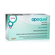 Apoquel Dermatológico Zoetis para Cachorro 3,6mg Caixa com 20 Comprimidos