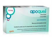 Apoquel Dermatológico Zoetis para Cachorro 5,4mg Caixa com 20 Comprimidos